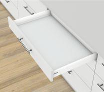 Voorgemonteerd - Lade Antaro N - Blumotion - Inbouwhoogte: 8.25 cm - Zijwandhoogte: 6.85 cm