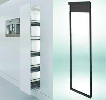Dispensa Soft Close Kastbreedte: 15 cm Inbouwhoogte 1600-2000 mm Antraciet