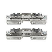 Aventos HS Frontbevestiging voor smalle aluminium kaders