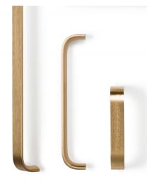 Meubelgreep - Aluminium - Goud Mat - Greepdikte: 17 mm - Drie lengtes: 103 t/m 263 mm