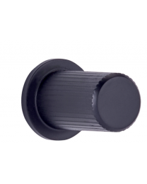 Meubelknop - RVS - ø 17 - 33 mm - Zwart