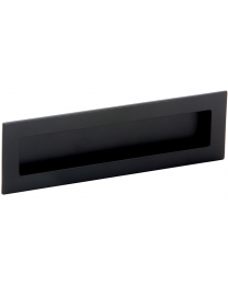 Komgreep - Zamak - Zwart - 160 x 50 mm - Om te lijmen