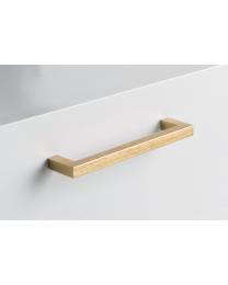 Meubelgreep - Aluminium - Goud Geborsteld - Greepdikte: 10 mm - Lengte: 138 mm