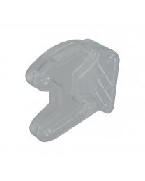 Adapter Dassenhouder AH5 - Voor bevestiging onder legplank - Twee kleuren
