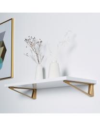 Plankdrager - Verouderd goud - Lengte: 230 mm - 27.5 kg