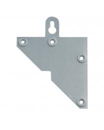 Kastophanger Driehoek - Hoogte: 91.5 mm - L+R