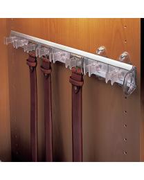 Riemenhouder Uittrekbaar - Grijs/Aluminium Transparant