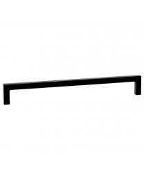 Meubelgreep - Zamak - Zwart Mat - Greepdikte: 8.5 mm - Vier lengtes: 136 t/m 500 mm