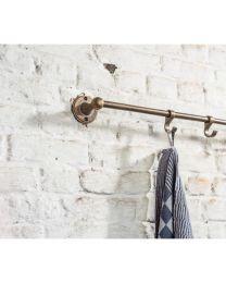 Relingsysteem Puur - Ruw Brons - Koperkleurig - Lengte: 1000 mm