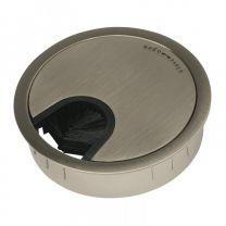 Kabeldoorvoer - Metaal - Twee maten 60 - 80 mm! - RVS Look