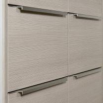 Greeplijst Aluminium - Infreesprofiel - Zilverkleurig Mat - Negen Lengtes