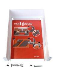 Sifonuitsparing voor Legrabox Lade - Metaal - Vier kleuren - 177 x 248 x 79 mm