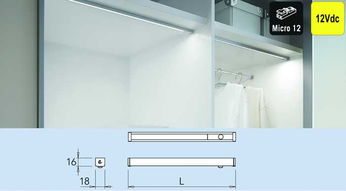 Kledingkast verlichting meubelbeslagshop meubelbeslagshop